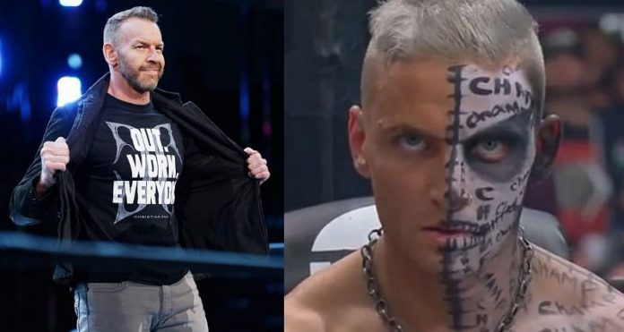 Darby Allin and Christian Cage have applied for trademarks