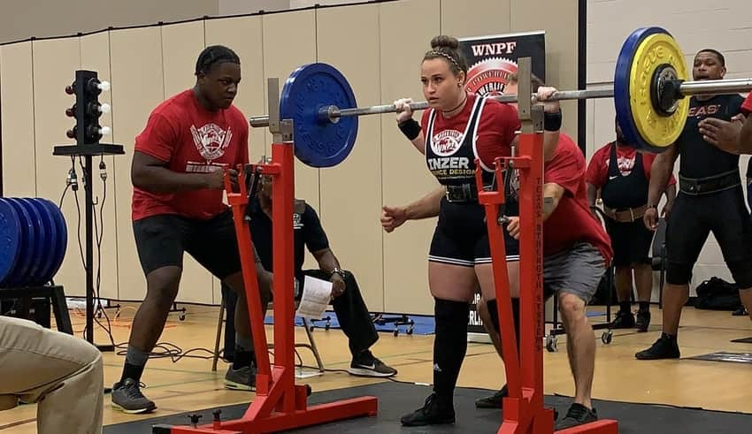 IMPACT Knockouts star breaks records in Powerlifting Competition