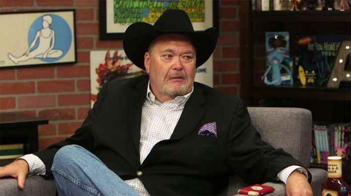 Jim Ross comments after referring to AEW as WWE