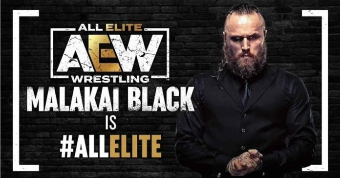 AEW announces the official signing of Malakai Black