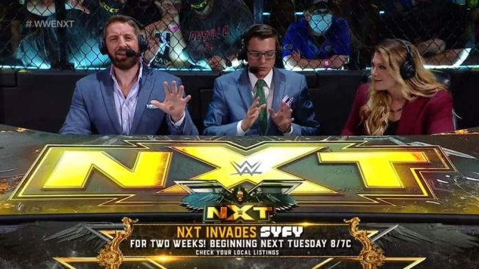 NXT airing on Syfy next two weeks