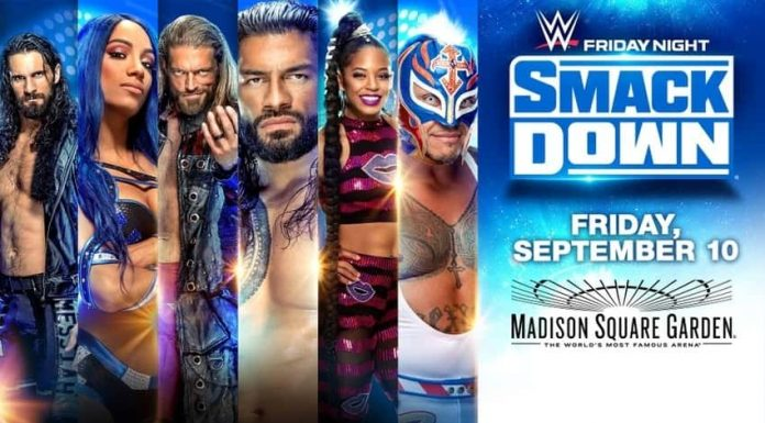 SmackDown on September 10 at MSG changed to a Supershow