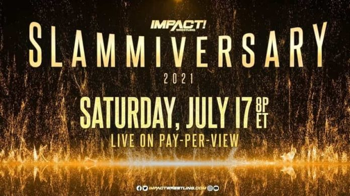 Updated card for Slammiversary