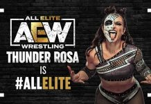 AEW announces the official signing of Thunder Rosa