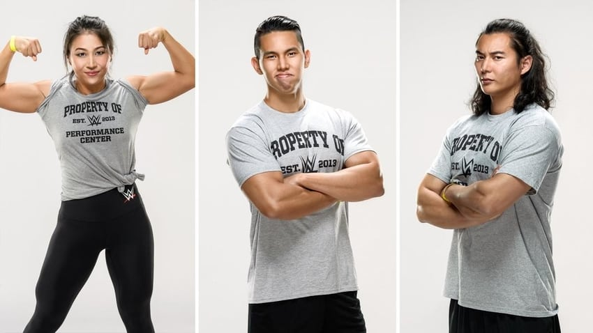 New International recruits reported to WWE Performance Center