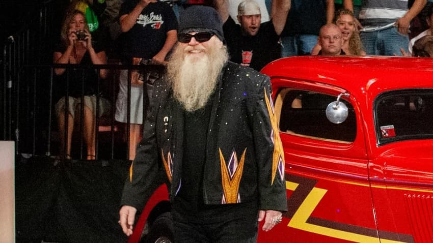 WWE pays tribute to ZZ Top's Dusty Hill