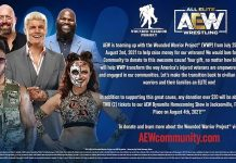 AEW announces partnership with Wounded Warrior Project