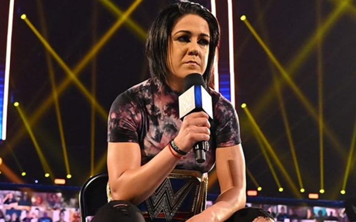 Bayley underwent surgery for her torn ACL