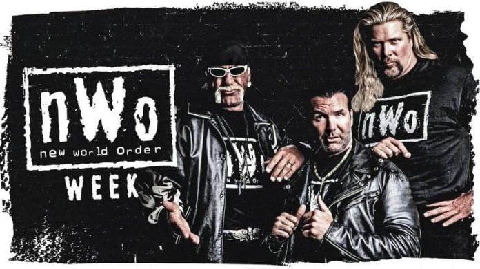 WWE announces the celebration of nWo week
