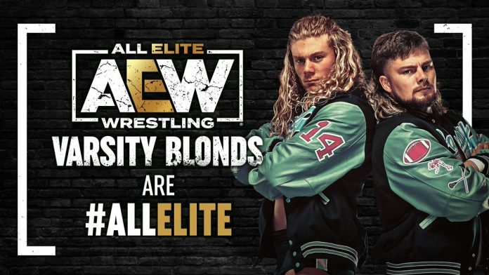 The Varsity Blondes sign with AEW