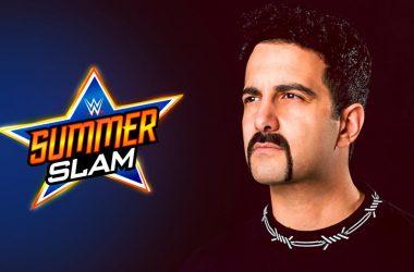DJ Valentino Khan performing at SummerSlam