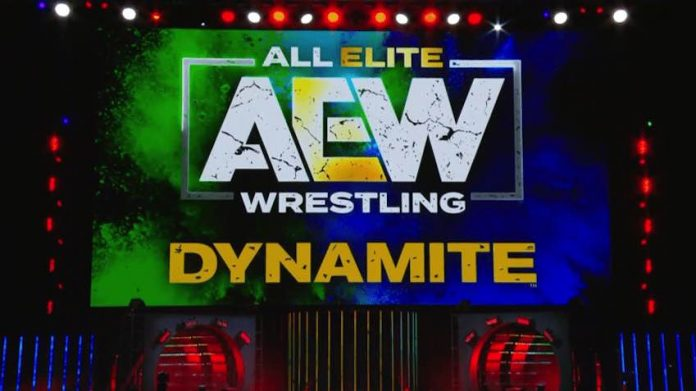 Updated Card for Wednesday's live episode of AEW Dynamite