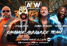 AEW Rampage announce team revealed