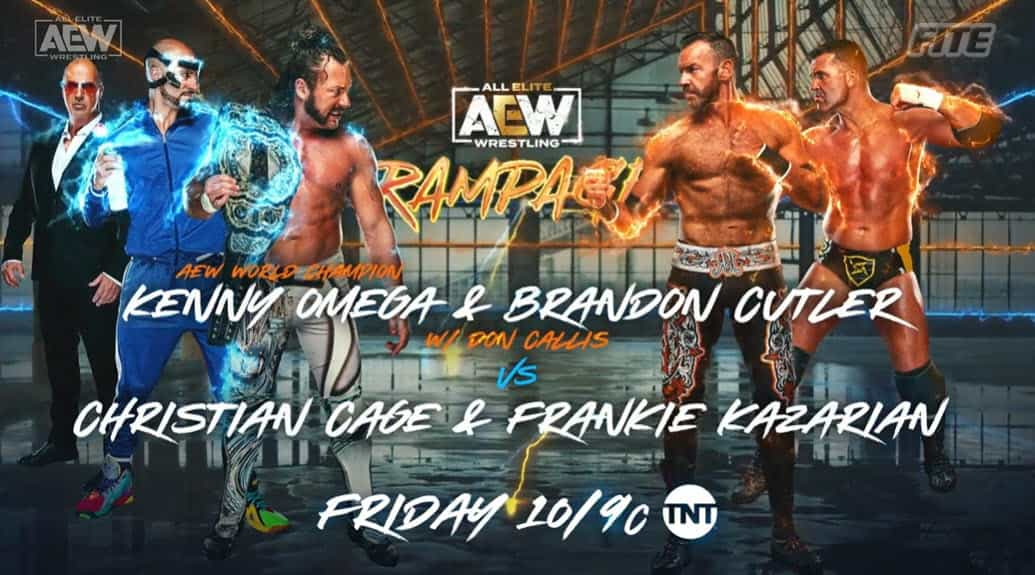 AEW Rampage lineup for tonight: Tag Team Title Eliminator Match -