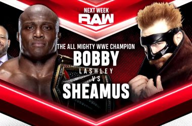 WWE Raw matches for August 30