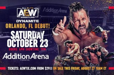 AEW Dynamite returning to Saturday in October