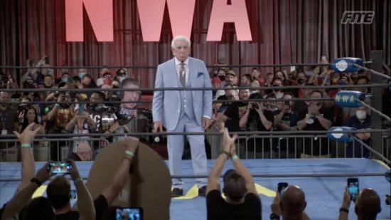 Ric Flair appears at NWA 73 PPV