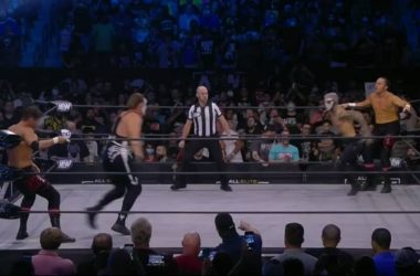 Sting wrestles in on TNT for the first time since 2001
