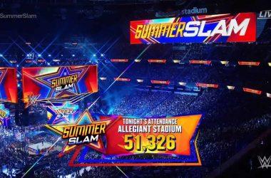 WWE announces attendance for SummerSlam in Las Vegas