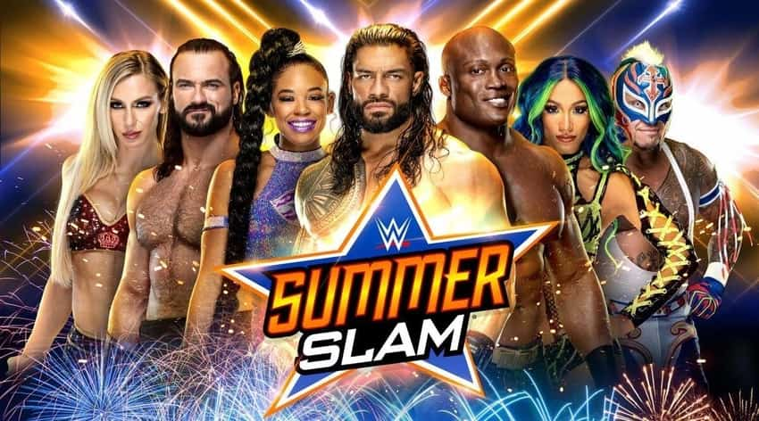 Updated card for WWE SummerSlam
