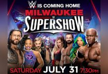 Results from Saturday night's WWE Supershow in Milwaukee