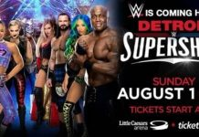WWE Supershow Results from Little Caesars Arena in Detroit