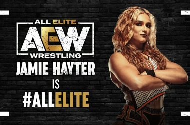 AEW announces Jamie Hayter signs with the company