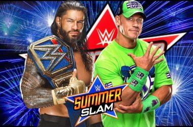 Roman Reigns retains over John Cena