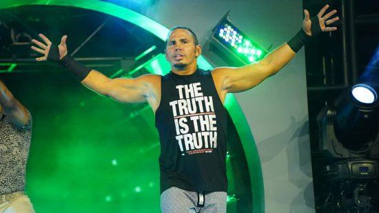 Matt Hardy trolls fans using Hardy Boyz theme song