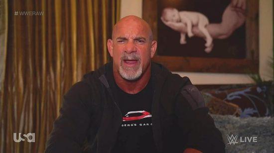 Bill Goldberg appears on WWE Raw, addresses Bobby Lash