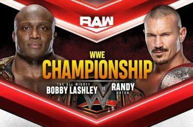 WWE Championship Match set for this Monday's live Raw