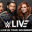 WWE announces the company is returning to the United Kingdom in November