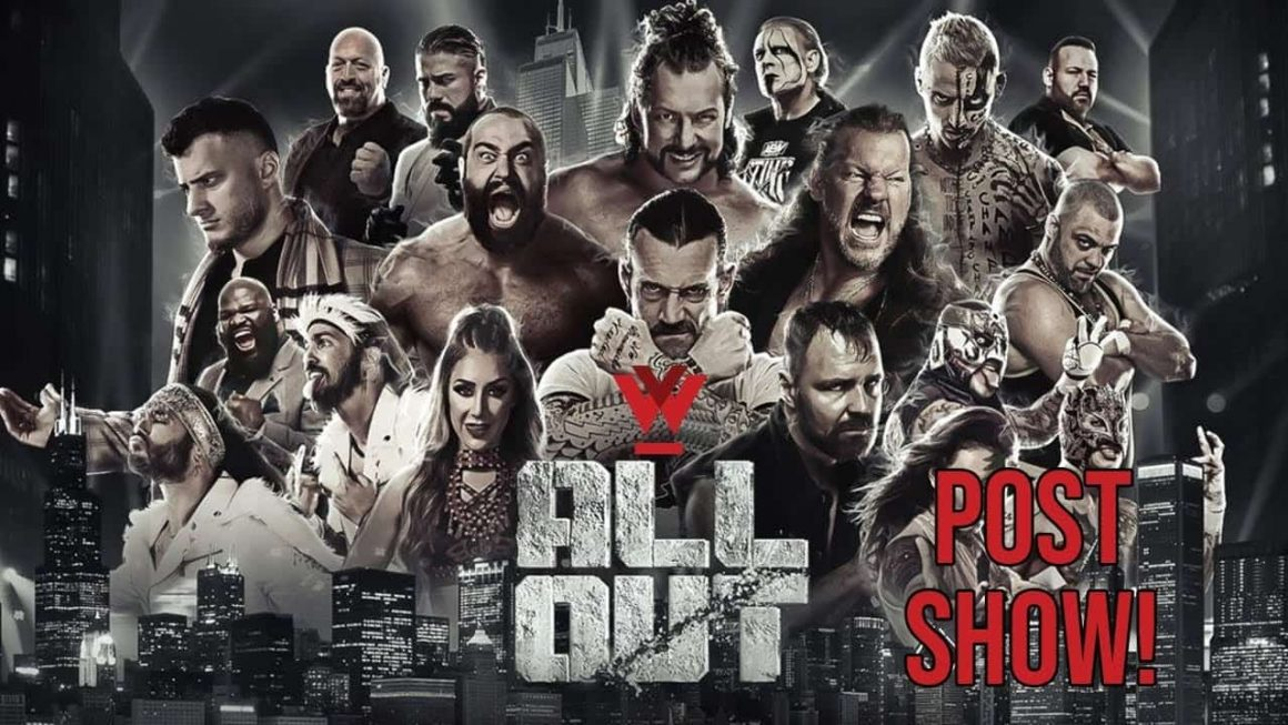 AEW All Out Post-Show