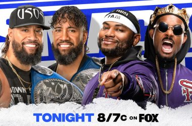 The Usos to defend the SmackDown Tag Team Titles on tonight's show
