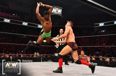 Lee Moriarty signed to a full-time AEW contract