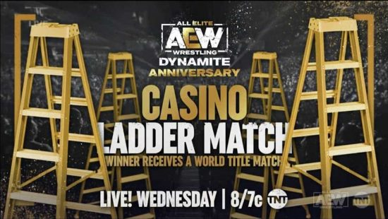 Casino Ladder Match entrants and updated card for Dynamite