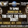 Top AEW star looks to be debuting under a mask at Dark tapings