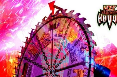 """""""Spin The Wheel, Make The Deal"""" Match set for NXT Halloween Havoc"""