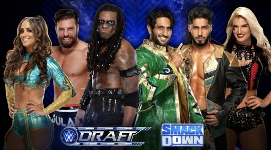 More WWE Superstars drafted during Saturday's Talking Smack