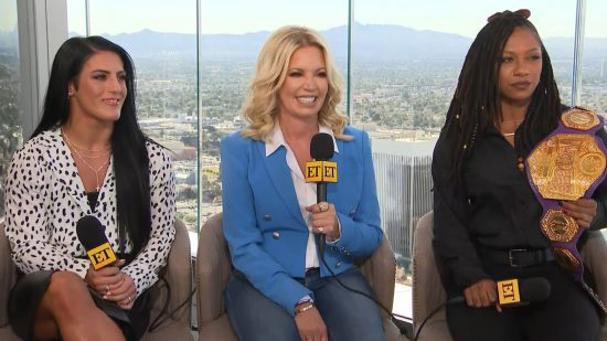 Video: Entertainment Tonight with Women of Wrestling