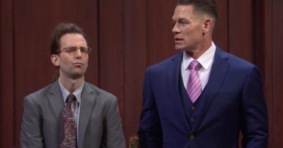 WWE Superstar John Cena appears in skit on Saturday Night Live