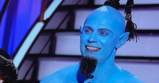 Video: The Miz as the Genie from Aladdin on DWTS